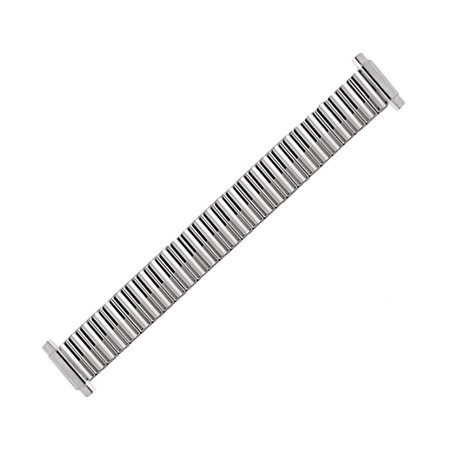 - Hadley Roma LB6852W 9-12mm Stainless Straight Expansion Bracelet Watch Strap