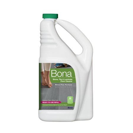 Bona® Stone Tile & Laminate Floor Cleaner Refill 64oz - Green Hardwood Floor