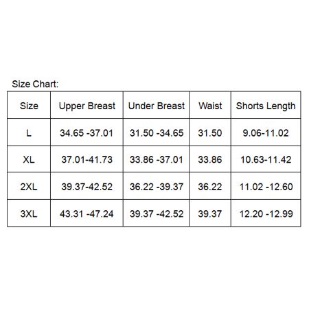 2e591744fd8 ... Senfloco 3 Pcs Set Plus Size Tankini Swimwear Bathing Suit Strappy  Padded Swimming Suit