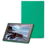 Amazon - 5th Generation - flip cover for tablet - polyurethane - green - for Kindle Fire HD 10