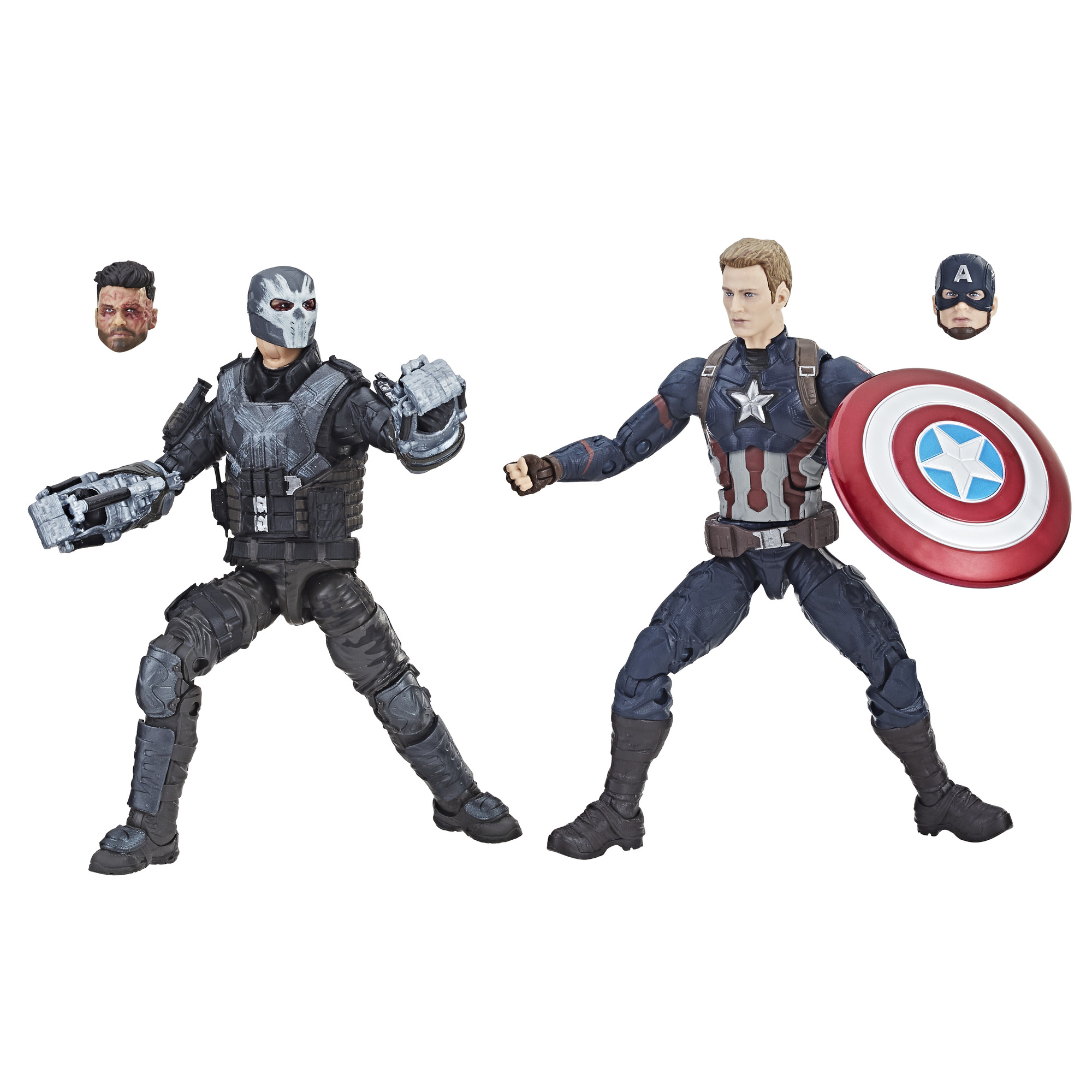 Marvel Studios: The First Ten Years Captain America: Civil War Captain America And Crossbones by Marvel
