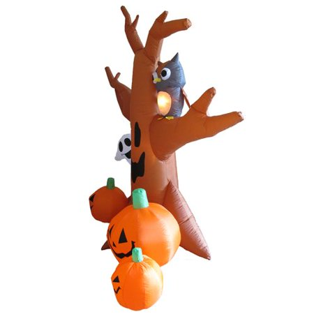 The Holiday Aisle Halloween Inflatable Haunted Tree - Halloween Inflatable Haunted Tree