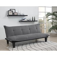 DHP Lodge Tufted Upholstery Futon Couch, Multiple Colors