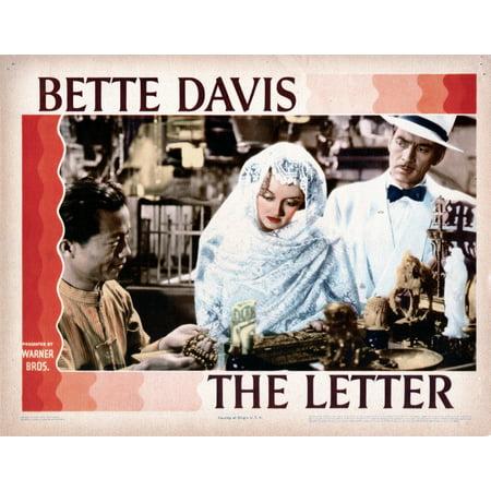 The Letter Center And Right Bette Davis James Stephenson 1940 Movie Poster Masterprint