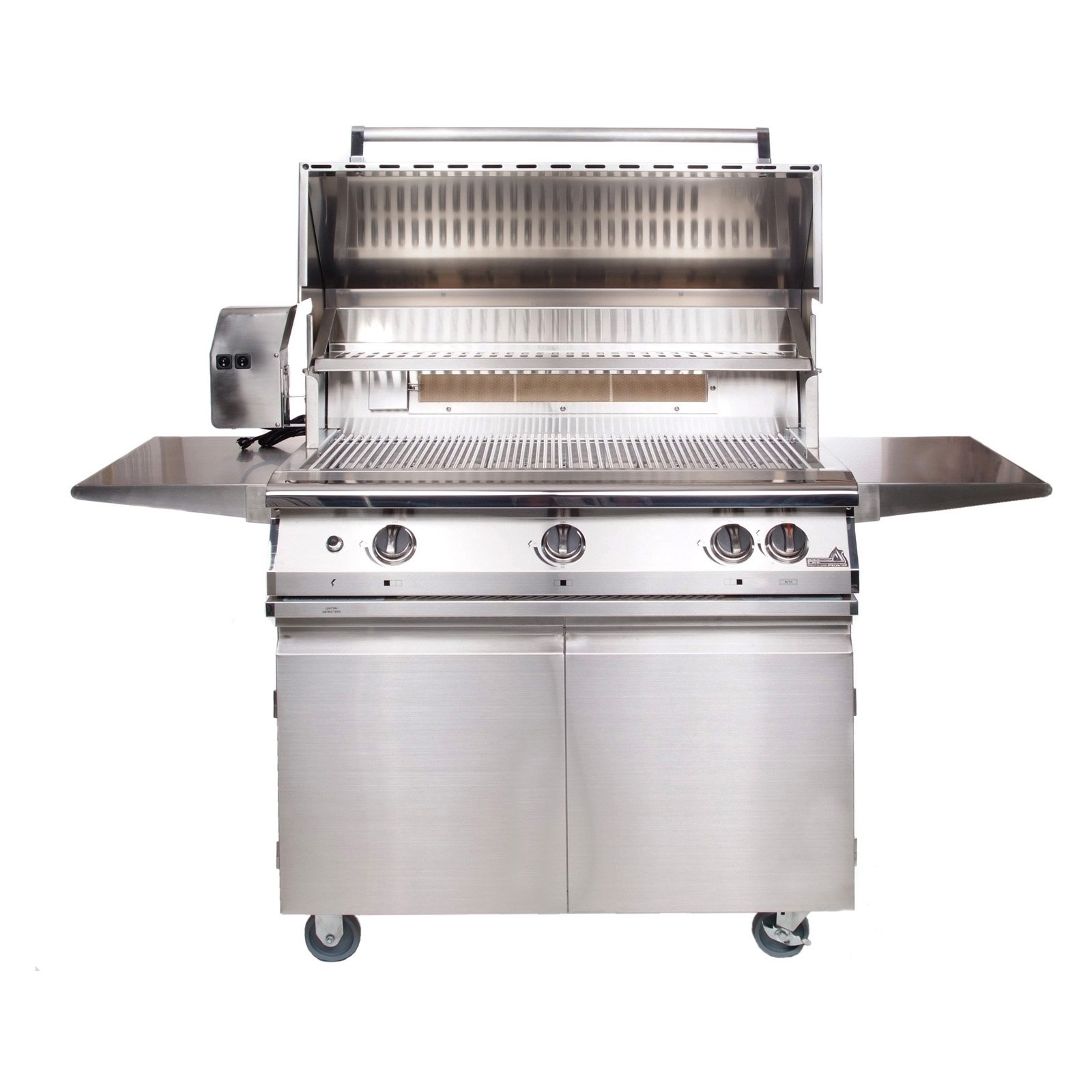 PGS Legacy 39 in. Pacifica 3-Burner Gourmet Built-In Grill with Rotisserie Burner