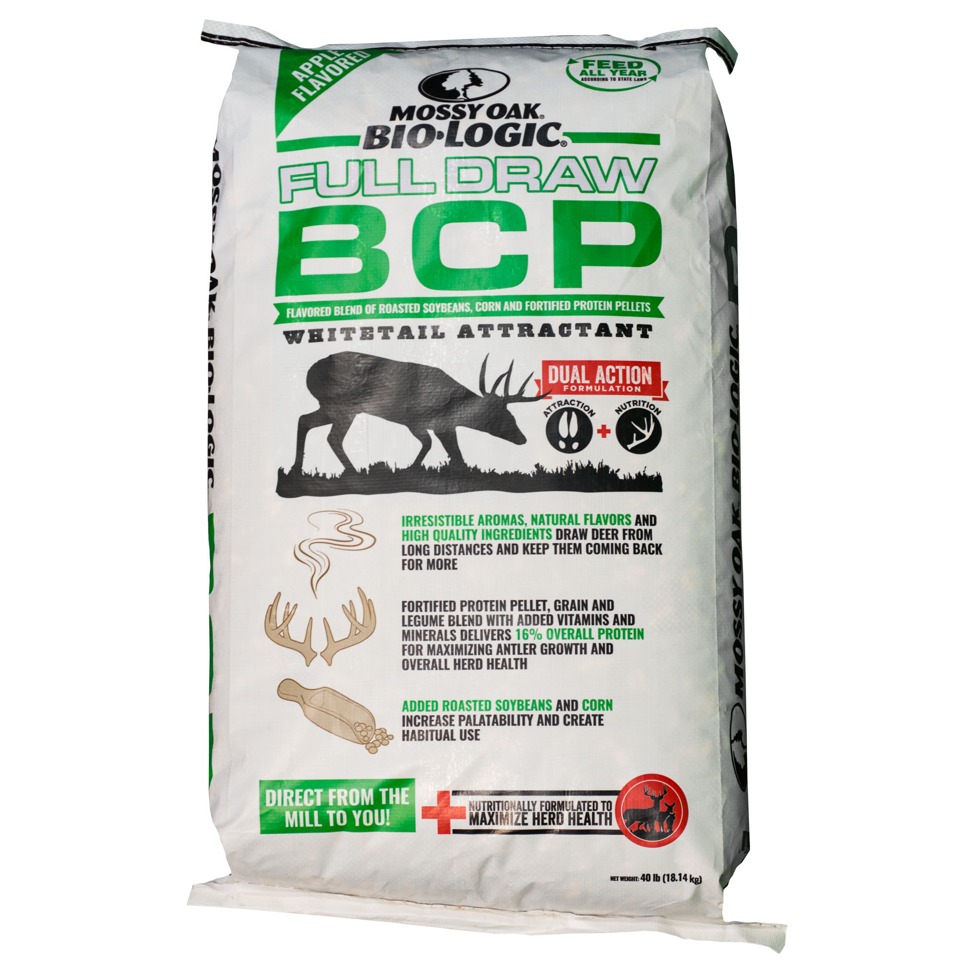 Mossy Oak BioLogic Full Draw BCP Apple Deer Attractant