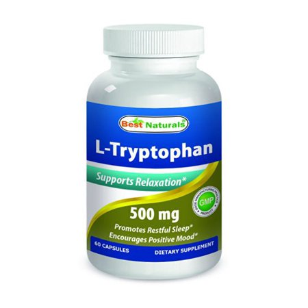 Best Naturals L-Tryptophan 500 mg 60 Capsules