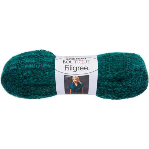Red Heart Boutique Filigree Yarn-Jungle