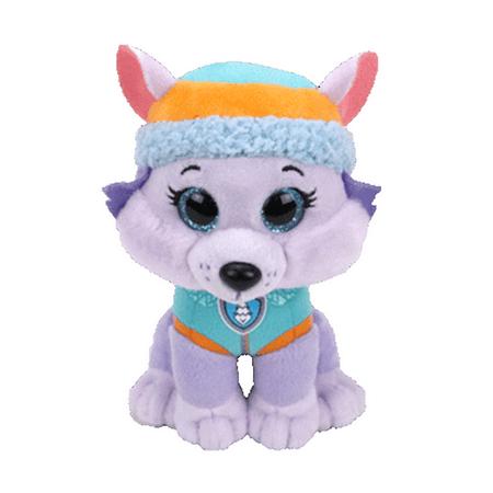 TY Beanie Boos - Paw Patrol - EVEREST the Husky Dog (LARGE Size - 17