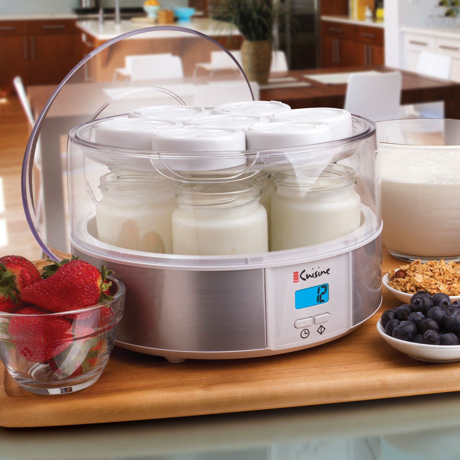 Euro Cuisine Automatic Yogurt Maker Walmart