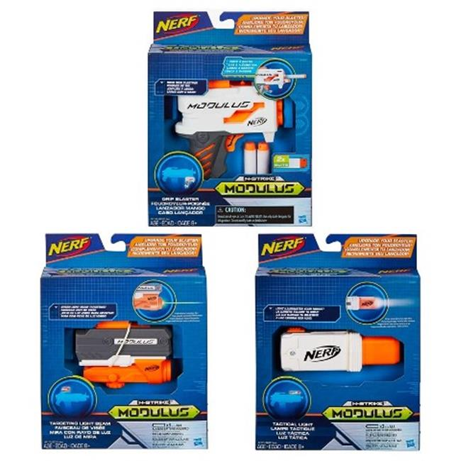 Hasbro HSBB6321 Nerf-Modulus Gear Assorted , Pack of 4 by Hasbro