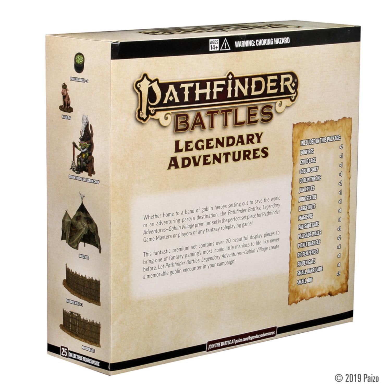 Pathfinder Battles Set 17 Legendary Adventures Goblin Village