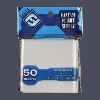 FFGFFS65 Square Board Game Sleeves Fantasy Flight Games