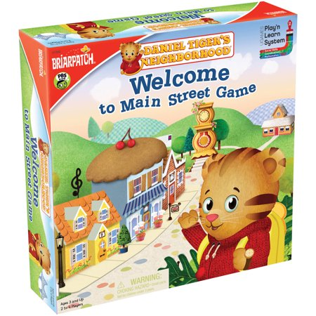 Daniel Tiger's Neighborhood Welcome to Main Street Game - Daniel Tiger Game