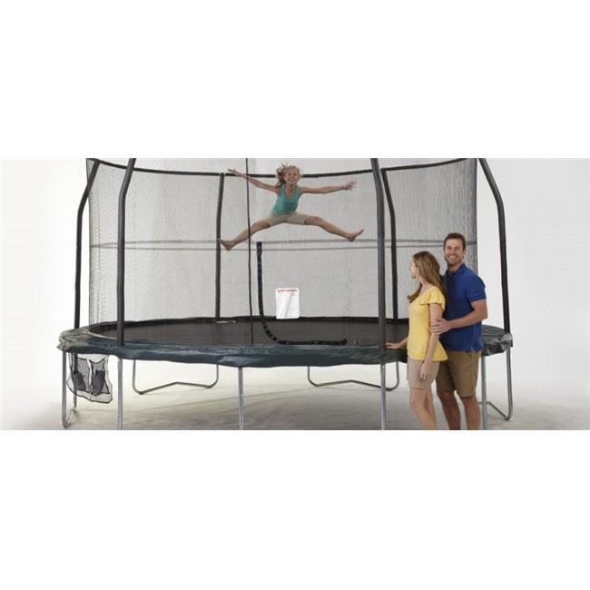 Bazoongi Kids JK1521C1-DAL 15 ft. Jumppod Trampoline & En...