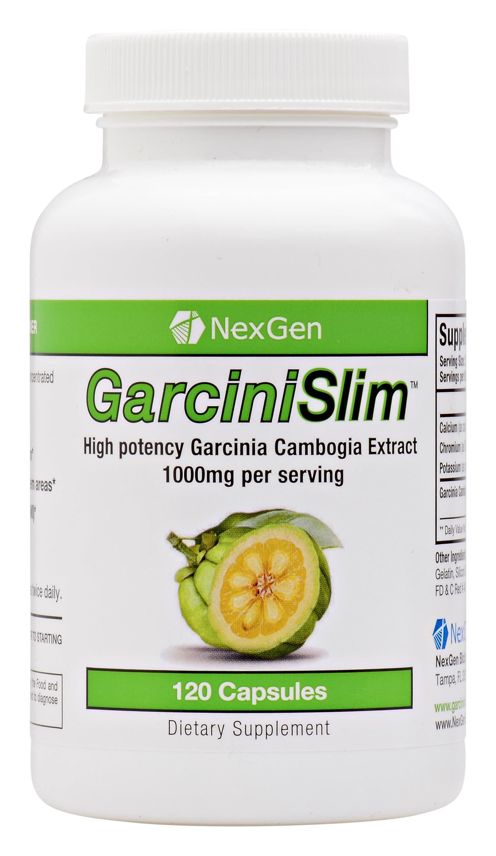 Nexgen Biolabs Garcinislim Garcinia Cambogia Extract Diet Weight Loss Pills 1000 Mg 120 Capsules Walmart Com Walmart Com