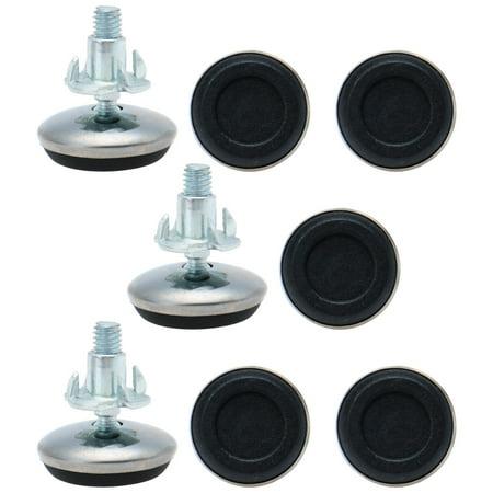 M6 x 13 x 30mm Leveling Feet Adjustable Leveler Floor Protector for Cabinet - Halloween Level 13 Floors