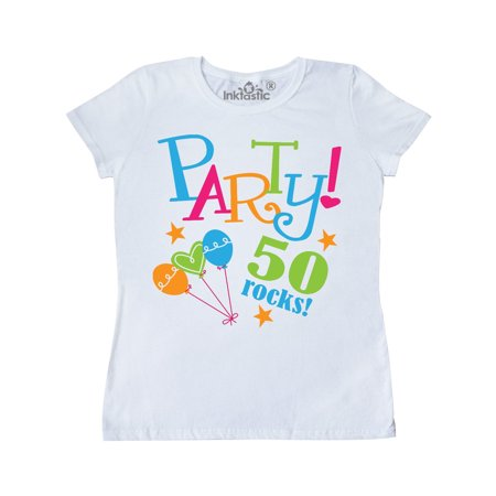 - 50th Birthday Party Gift Women's T-Shirt
