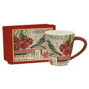 Lang 17 oz. Cherries Caf  Mug