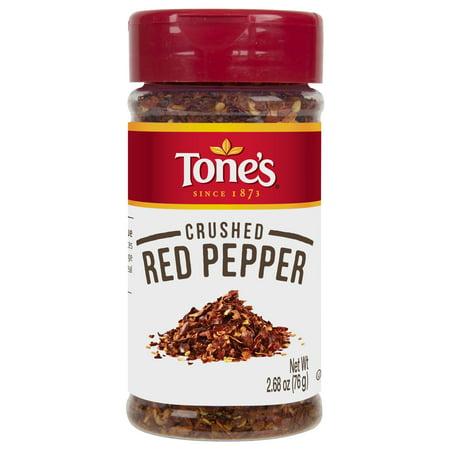 Fire Red Pepper - (4 Pack) Tone's Crushed Red Pepper, 2.68 oz