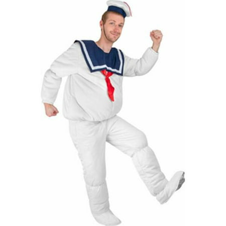 Adult Stay Puft Marshmallow Man Costume (Make Homemade Stay Puft Marshmallow Man Costume)