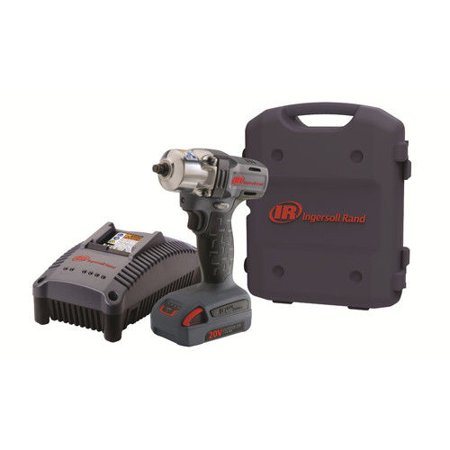 Ingersoll Rand W5130 K1 20V 1 5 Ah Cordless Lithium Ion 3 8 In  Mid Torque Impact Wrench Kit