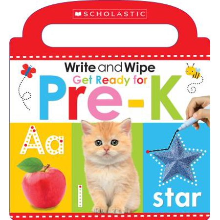 Write and Wipe Get Ready for Pre k (Board Book)