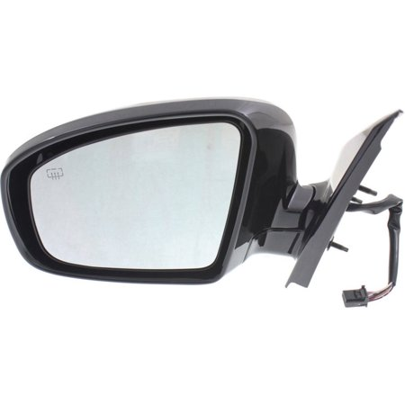 Kool Vue Mirror - NS18EL - For Nissan Pathfinder, Driver Side, Manual Folding
