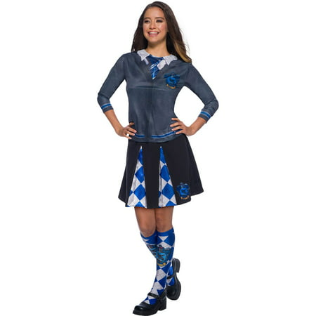 Ravenclaw Uniform Female (The Wizarding World Of Harry Potter Ravenclaw Socks Halloween Costume)