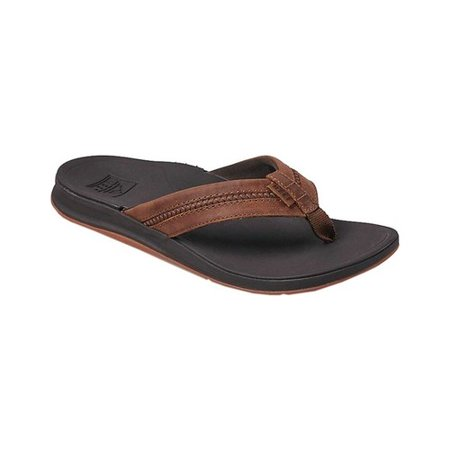 Men's Reef Bounce Coast Leather Flip Flop