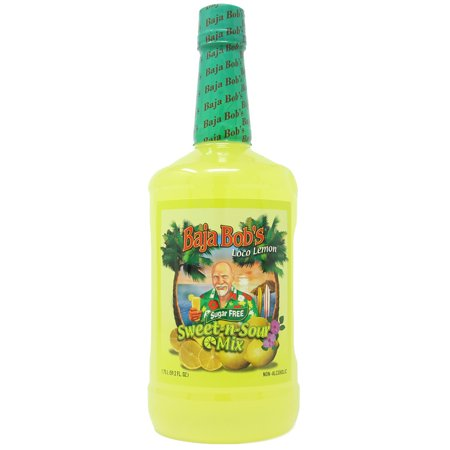 Baja Bob's Sugar-Free Sweet and Sour Mix, 1.75 L (59 oz)
