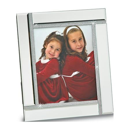 Glass Mirror 4x6 Photo Frame (Designer Glass Frames)