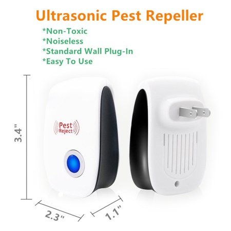 Ultrasonic Pest Reject Electronic Magnetic Repeller Anti Mosquito Insect Killer,Mosquito Repeller, Home Mosquito Repeller - image 2 of 12