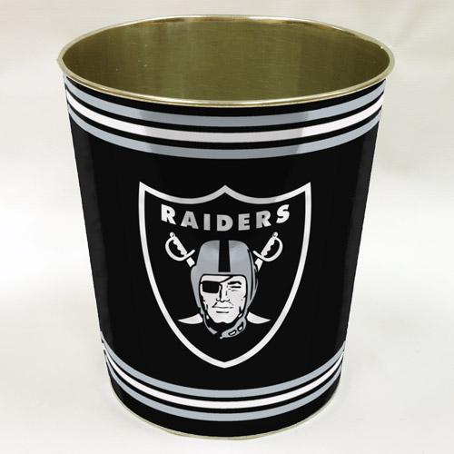 NFL Oakland Raiders Wastebasket