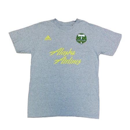 Adidas Men's Portland Timbers adidas Logo Alaska Airlines (Airline Logo Tee)