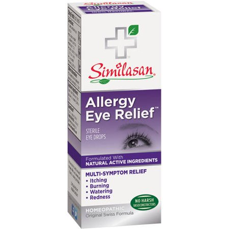 Similasan Allergy Eye Relief Sterile Eye Drops 033 Fl Oz Walmartcom