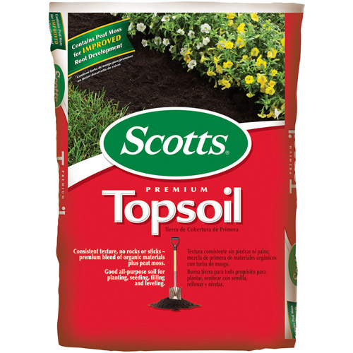 Scotts Premium Topsoil, 0.75 cu ft