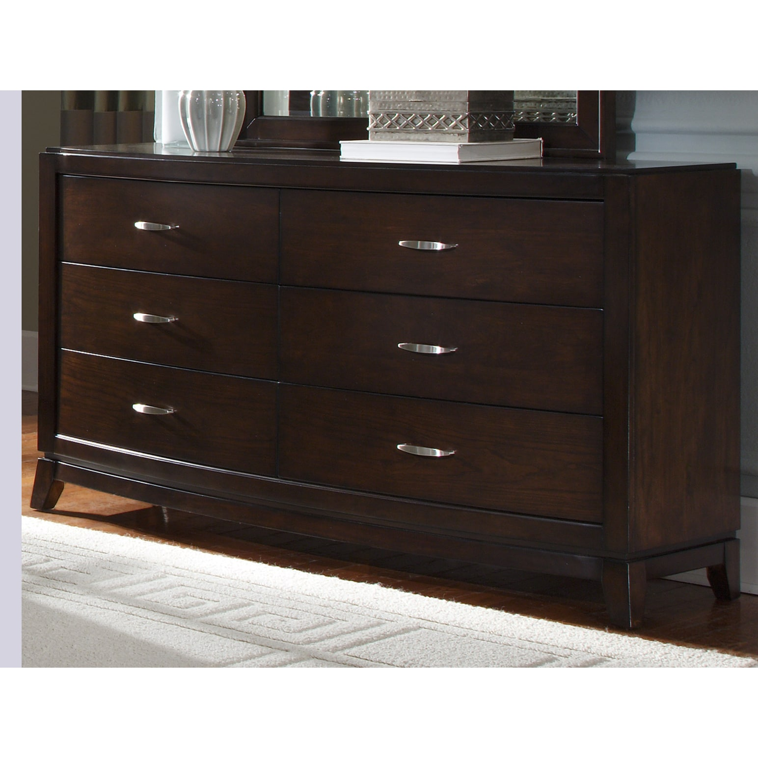 Liberty Avalon Dark Truffle 6-drawer Dresser