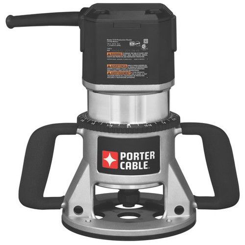 PORTER CABLE 7519 15AMP 3 1/4-HP Speedmatic Single Speed Fixed Base Router