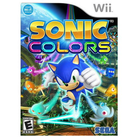 Sonic Colors  Wii    Pre Owned
