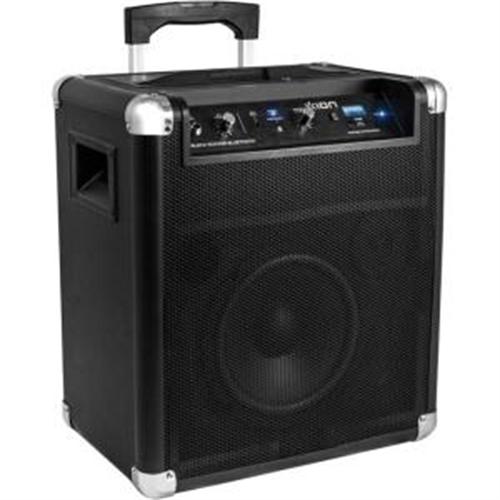 Ion Audio Speaker System - 18 W RMS - Wireless Speaker(s) - Black IPA56