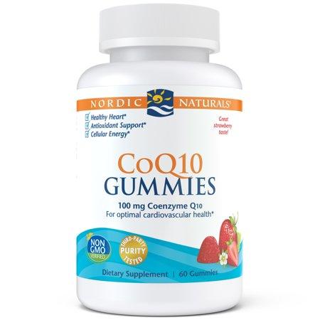 Nordic Naturals Nordic CoQ10 Gummies, 100 Mg, 60