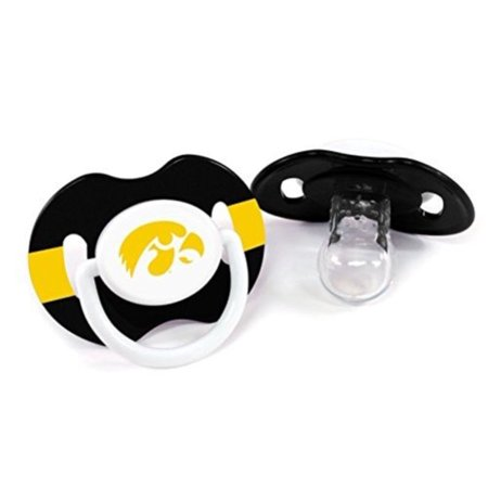 NCAA Iowa Hawkeyes 2 Pack Pacifier