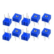 Resistors 20k Ohm Top Adjustment Horizontal Cermet Potentiometer 10 Pcs