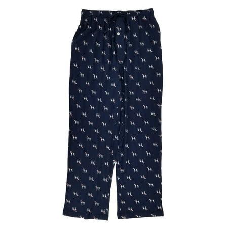 3f0a9b4d7c Stafford - Mens Navy Great Dane Classic Fit Knit Lounge Sleep Pants Pajama  Bottoms - Size - Small - Walmart.com