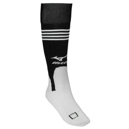 Mizuno Performance Stirrup Baseball Socks Black Baseball Stirrup