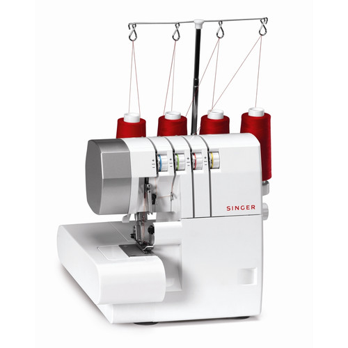 Singer Serger Overlock Machine, White with Gray Accents