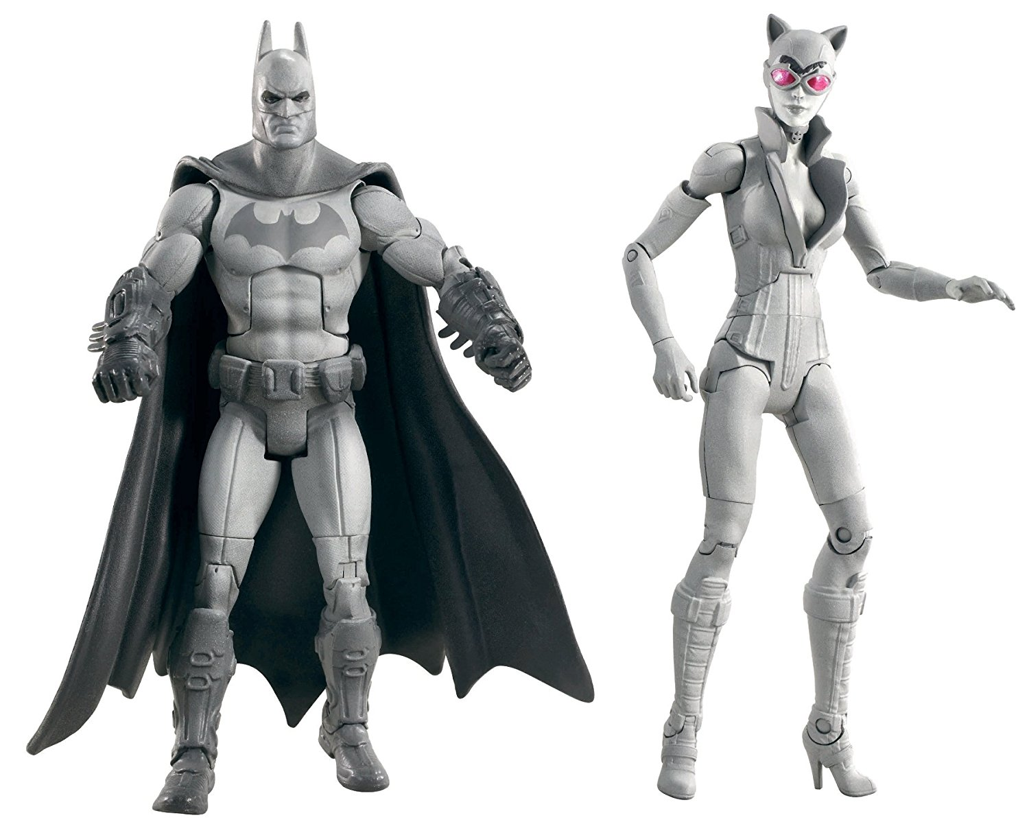 Batman Legacy Arkham City Batman and Catwoman Collector Figure 2-Pack (Black and White... by