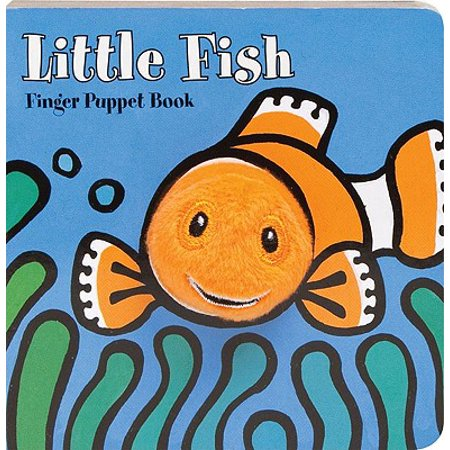 Little Fish: Finger Puppet Book (Board Book) - Fish Flingers