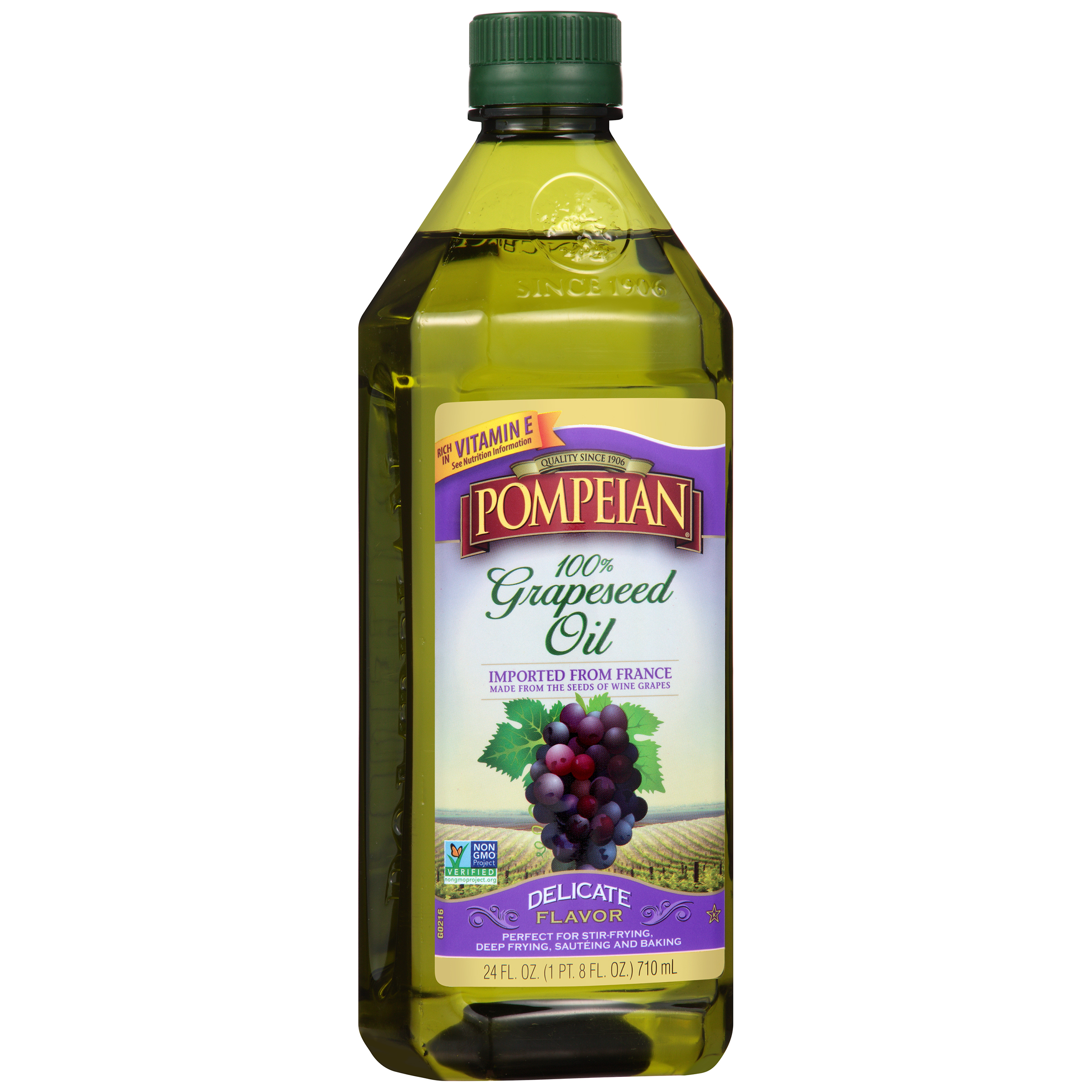 Pompeian�� Imported 100% Grapeseed Oil 24 fl. oz. Bottle